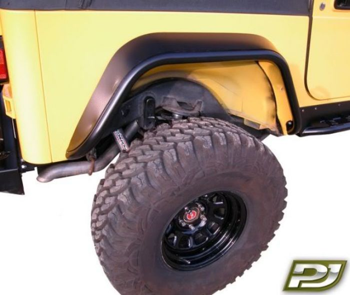 PJ4001: JEEP TJ/LJ REAR TUBE FENDERS